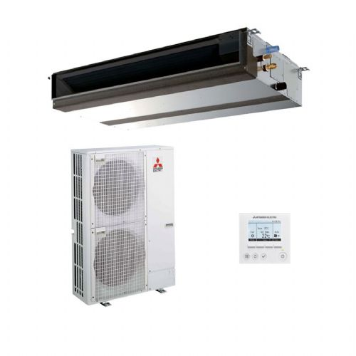 Mitsubishi Electric Air Conditioning PEAD-M140JA Ducted Concealed Inverter Heat Pump 14Kw/48000Btu R32 A+ 240V/415V~50Hz